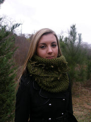 Vegan/Eco Friendly Green Earth Sprouted Unisex Neck Warmer