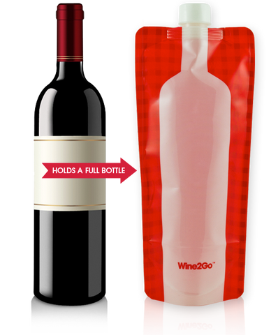 - The Foldable Wine Bottle -
