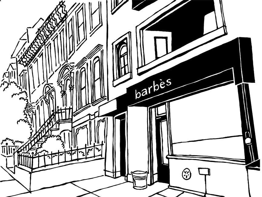 barbes of brooklyn original art by john tebeau