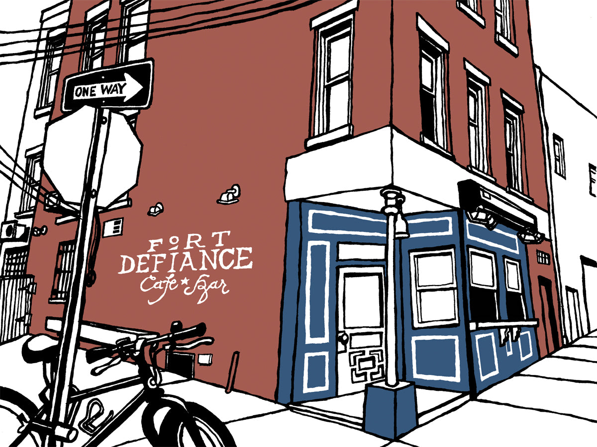 Fort Defiance of Brooklyn signed prints