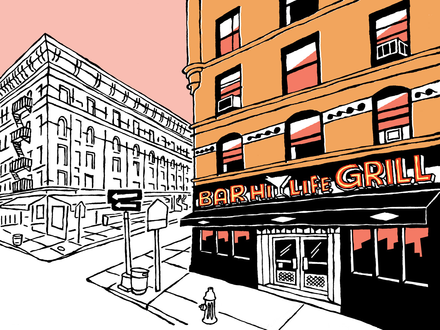 The Hi-Life Bar & Grill of New York signed prints