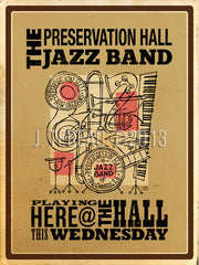 preservation hall jazz poster