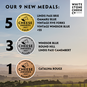 9 new medals at the NZ Cheese Awards!