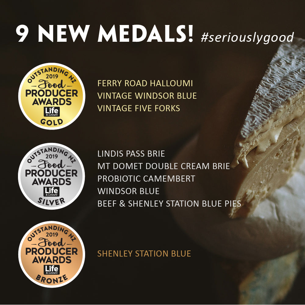 9 New Medals! Outstanding NZ Food Producer Awards 2019