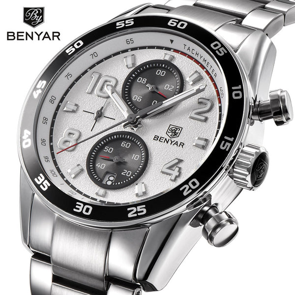 Binya BENYAR cross-border fashion watch men's watches waterproof multi-function watch quartz watches5126 - Marka Vip Online - ماركة