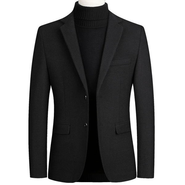 2020 spring and autumn new men's business casual jacket woolen suit jacket suit single male - Marka Vip Online - ماركة