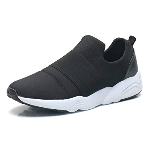 EpicStep Men's Casual Athletic Elastic Mesh Slip On Sneakers Running Shoes