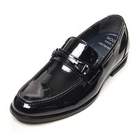 EpicStep Men's Dress Formal Shoes Leather Buckled Penny Loafers Oxfords