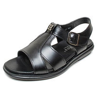 EpicStep Men's Genuine Leather Comfort Closed Toe Buckle Strap Fisherman Sandals Shoes