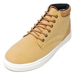 EpicStep Men's Casual Simple High Tops Shoes Zip Lace Up Fashion Sneakers Trainers Loafers