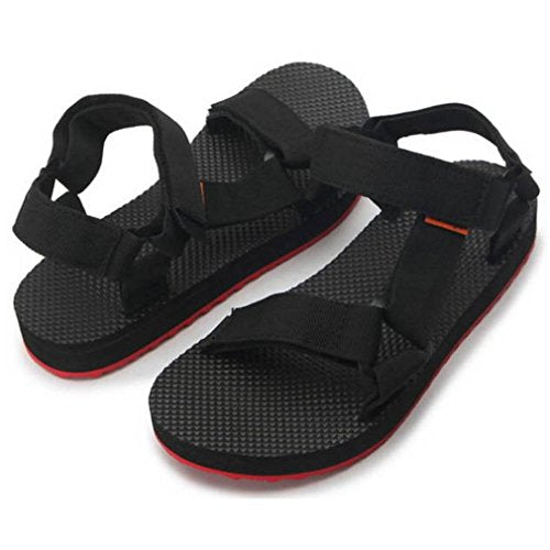 EpicStep Men's Casual Comfort Summer Beach Sports Outdoor Fabric Open Toe Strap Sandals Shoes