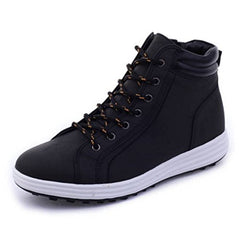 EpicStep Men's Simple Comfort Water Resistant Soft Toe Work Boots