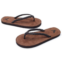 EpicStep Men's Summer Beach Comfort Casual Thong Slides Flip Flops Sandals Slippers Shoes