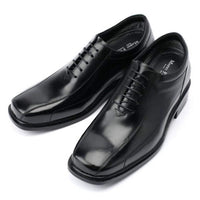 EpicStep Men's 3 Inches Taller Invisible Height Increasing Elevator Leather Dress Shoes