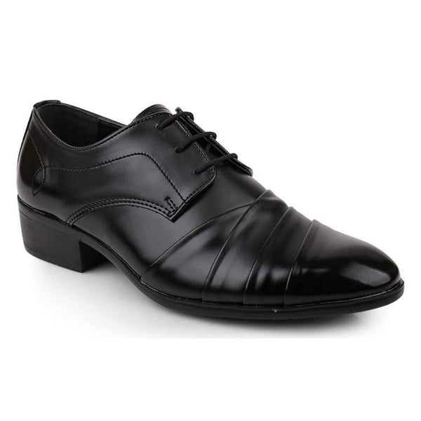 EpicStep Men's Leather Stylish Dress Formal Business Casual Comfort Lace Up Shoes Oxfords Loafers