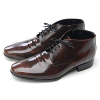 EpicStep Men's Genuine Leather Dress Formal Business Classic Lace Up Ankle Boots Oxfords Shoes