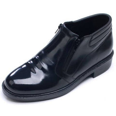 EpicStep Men's Genuine Cow Leather Dress Formal Business Casual Zip Shoes Ankle Boots Oxfords Loafers