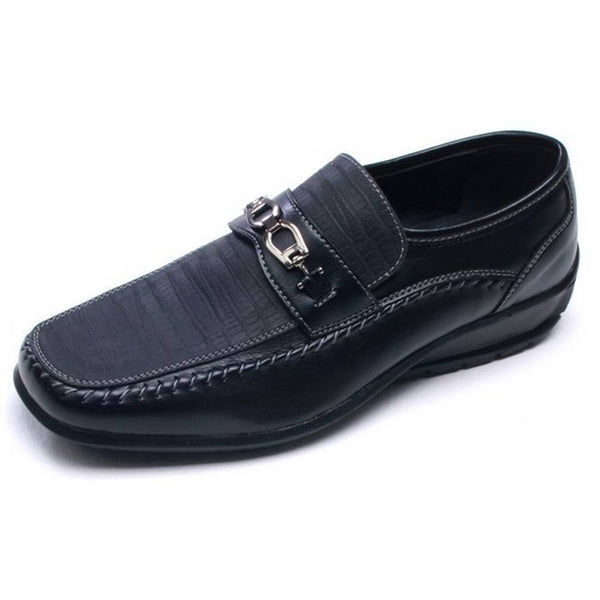 black-slip-on