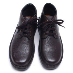 EpicStep Men's Genuine Leather Casual Comfort Dress Formal Zip Lace up Shoes Ankle Boots Oxfords Loafers