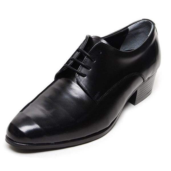EpicStep Men's Dress Formal Business Polished Genuine Leather Lace Up Oxfords Loafers Shoes