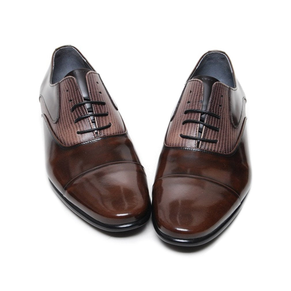 EpicStep Men's Genuine Leather Stylish Dress Formal Business Casual Shoes Oxfords Loafers