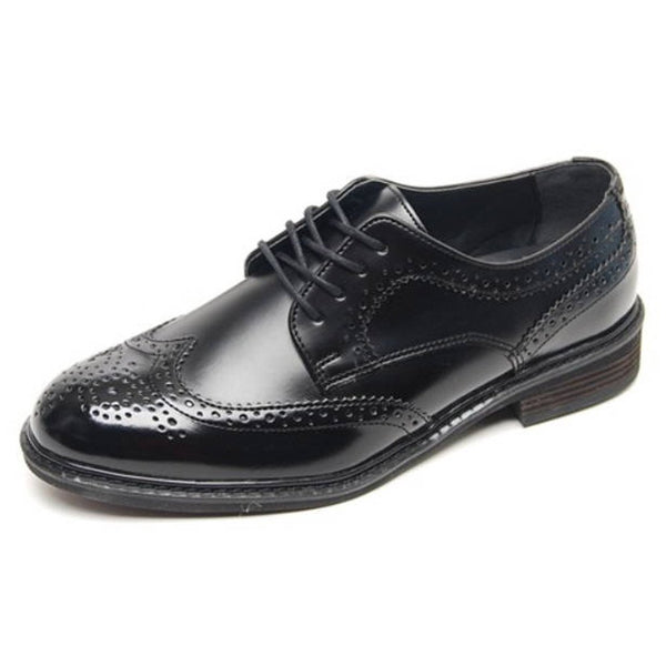Epicstep Mens Classic Dress Formal Business Casual Leather Wingtip Lace Up Shoes Loafers Oxfords