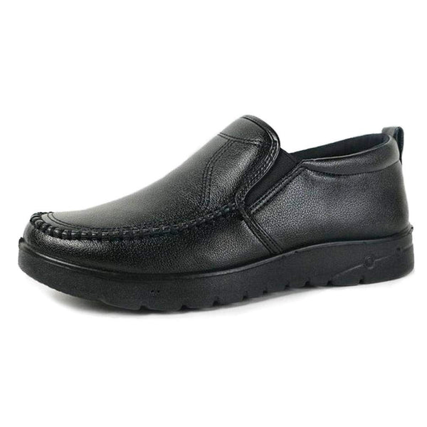 EpicStep Men's Casual Simple Comfort Cushioned Leather Slip On Loafer