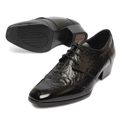 EpicStep Men's Genuine Leather Shoes Stylish Dress Formal Business Casual Oxfords Loafers