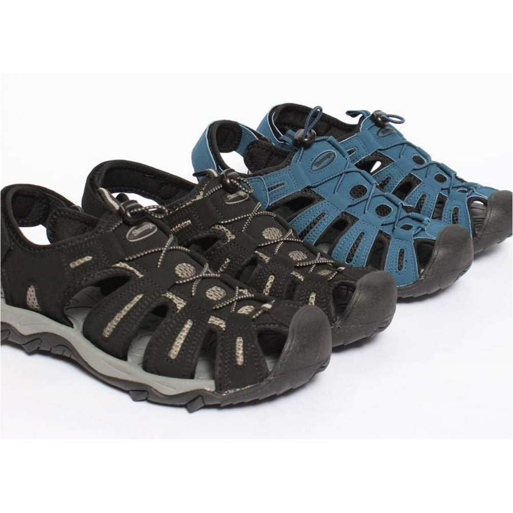 EpicStep Men's Outdoor Hiking Walking Trekking Cushioned Athletic Sports Fisherman Strap Sandals