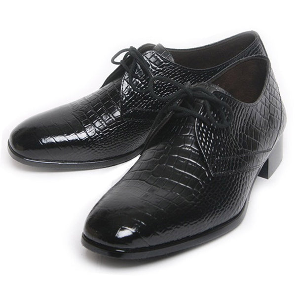 Epicstep Mens Dress Formal Business Casual Genuine Leather Lace Up Loafers Oxfords Shoes