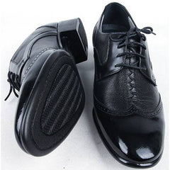 EpicStep Men's Dress Formal Business Genuine Leather Lace Up Tall Up Elevator Oxfords Shoes