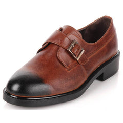 EpicStep Men's Handmade Genuine Leather Dress Formal Business Casual Slip On Loafers Oxfords Shoes