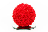 XXL Rose Ball Candle