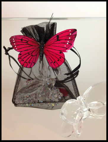Crystal Butterfly Favours