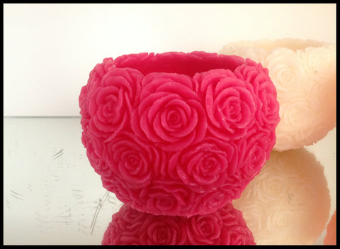 Floating Rose Bowl Candle