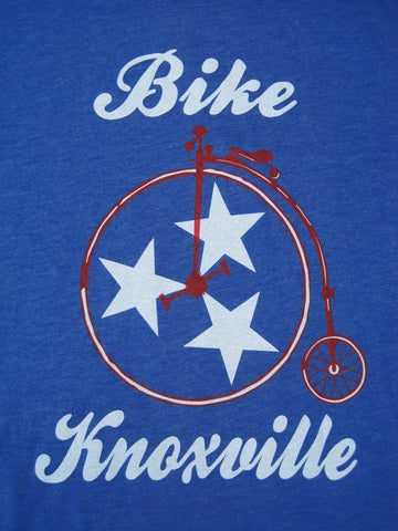Bike Knoxville - Red, White and Blue