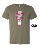Cas Walker sign t-shirt