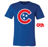 Tennessee baseball Chi Star tee