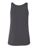 Dolly tank top dark gray with light gray print Parton