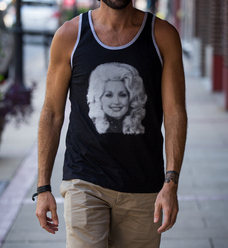 Dolly Parton Tank Top Shirt - Men's
