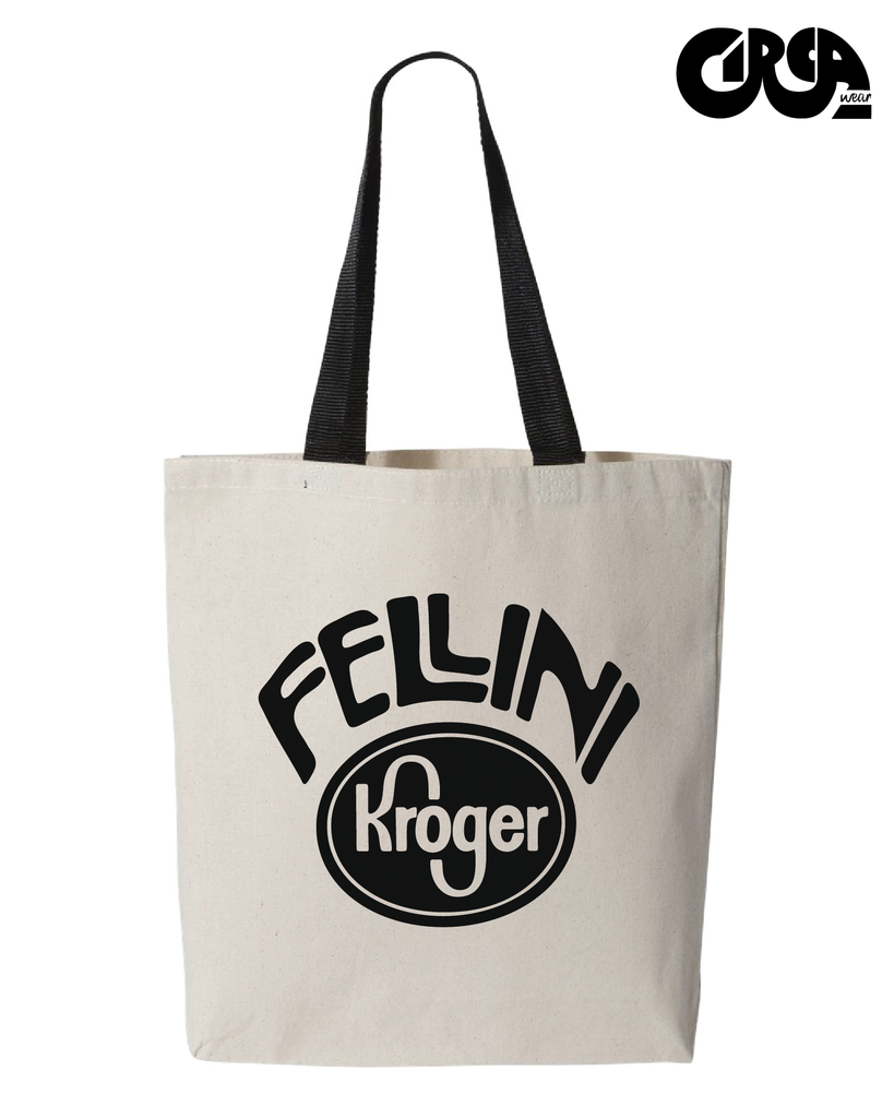 Fellini Kroger tote bag with goose