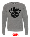 Fellini Kroger gray Bella sweatshirt