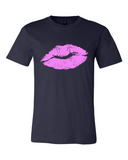 Kiss lips t shirt