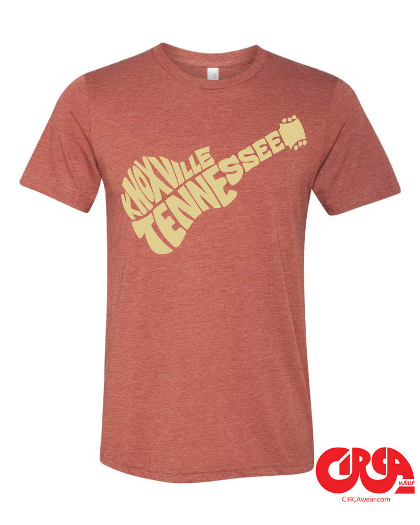 Knoxville, Tennessee Guitar tee