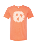 Tri star Tennessee Flag TN t-shirt :: variety of colors in Men's tees