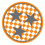 Tri-star sticker 3 star Tennessee sticker