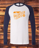 Tennessee Volunteer State long sleeve raglan tee