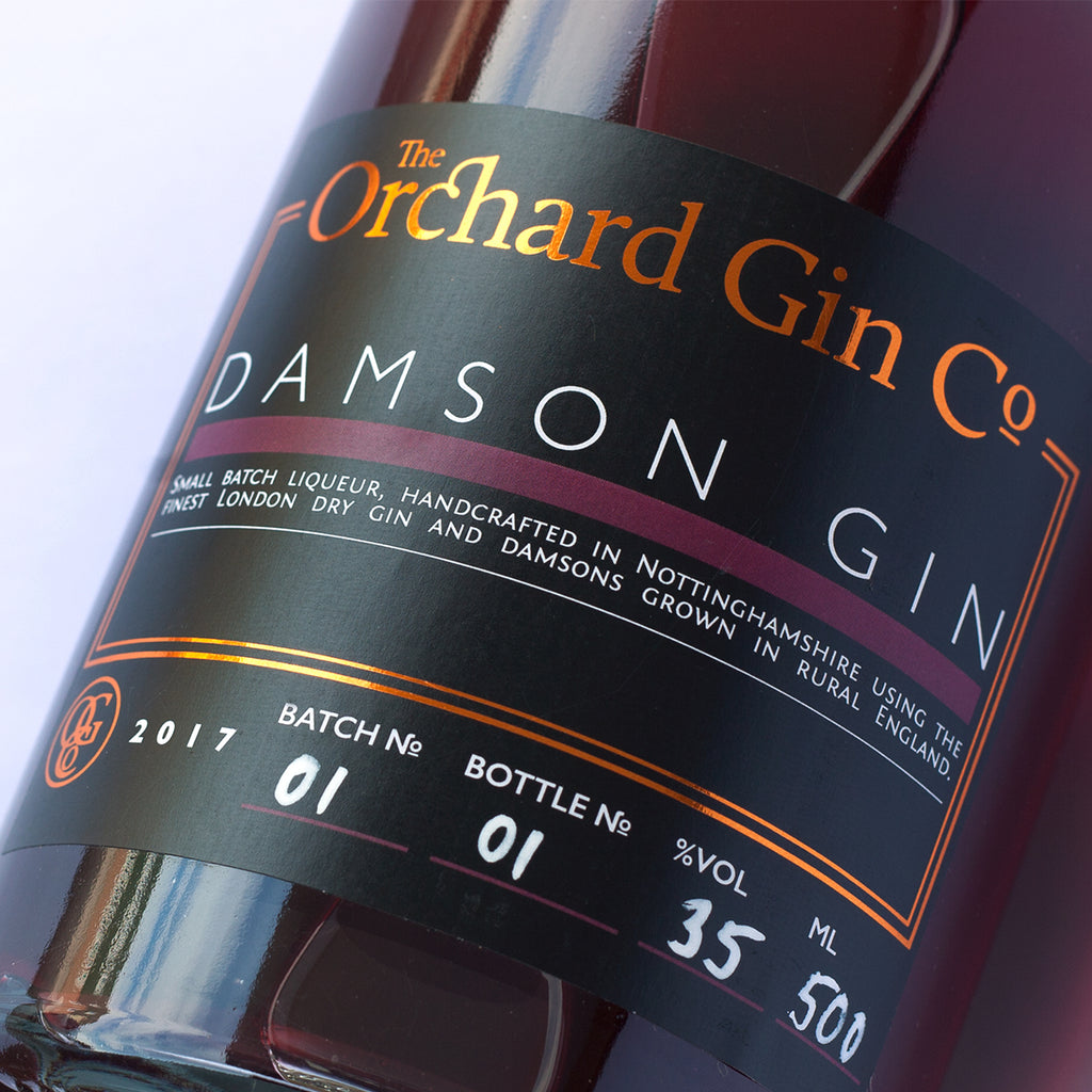 Damson Gin - The Orchard Gin Co