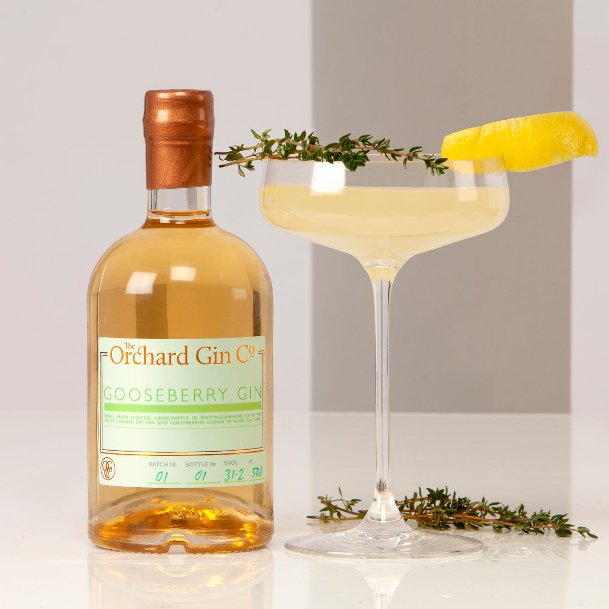 Gooseberry Gin - The Orchard Gin Co