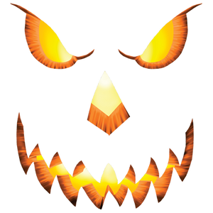 Pumpkin Head Heat Transfers